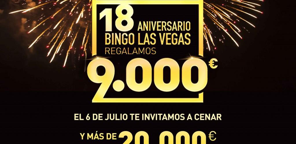 Promocion Aniversario Bingo Las Vegas