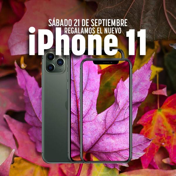 Sorteo iphone 11 septiembre 2019