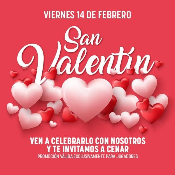 promo 14 febrero 2020 San Valentin