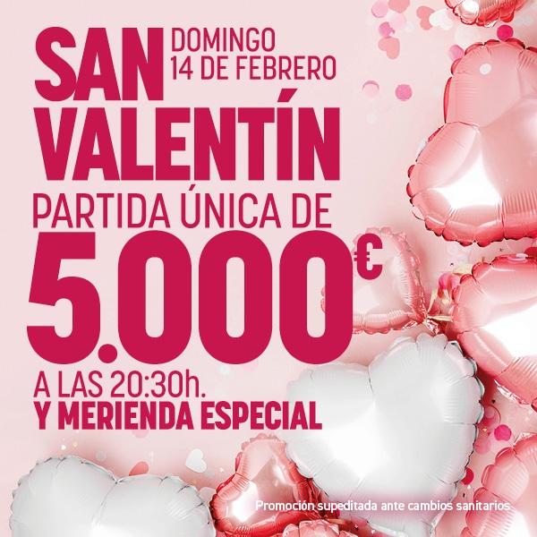 Promo San Valentin Febrero 2020